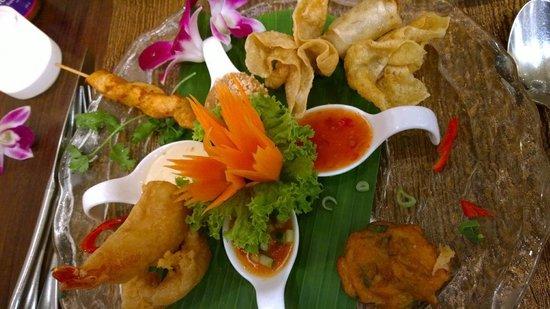 Thai Orchid: Vorspeisenvariation