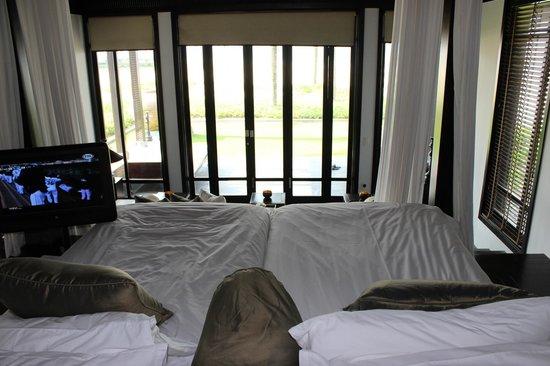 Four Seasons Resort The Nam Hai, Hoi An: ベッドからの眺め