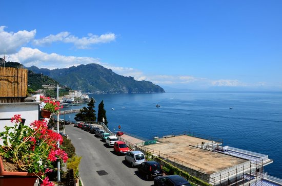 Hotel Dei Cavalieri: Vue du balcon de la chambre