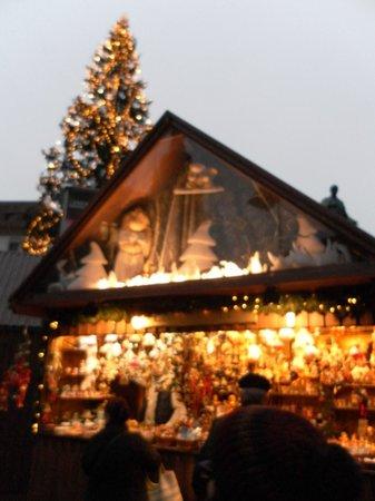 Historisches Zentrum von Wien: Рождественские ярмарочные теремки