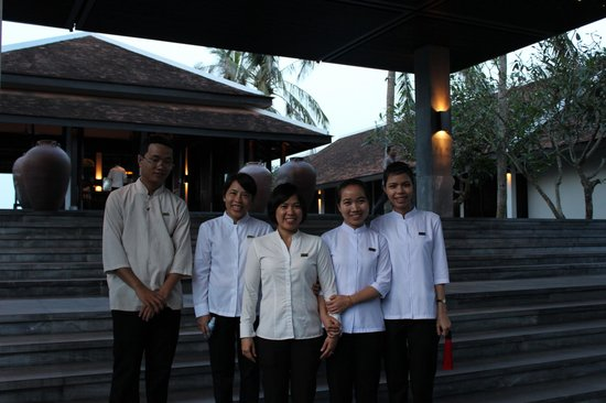 Four Seasons Resort The Nam Hai, Hoi An: みなさん親切です