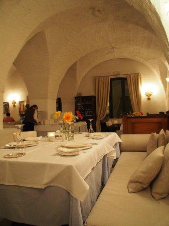 Masseria Torre Maizza : dinner at restaurant Torre Maizza