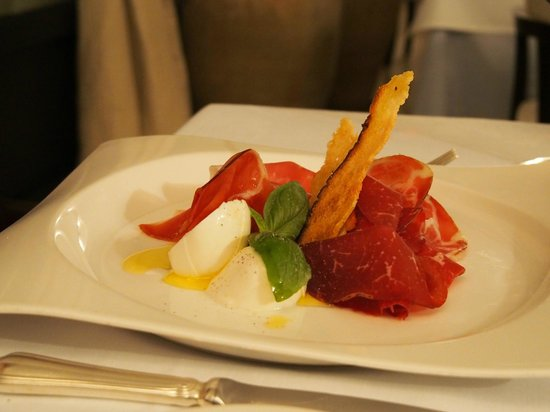 Masseria Torre Maizza : starter at the restaurant Torre Maizza