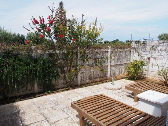 Masseria Torre Maizza : terrasse junior suite nr. 14