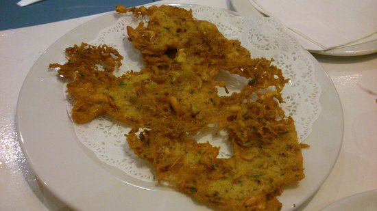 Balandro: Tortillitas de camarones