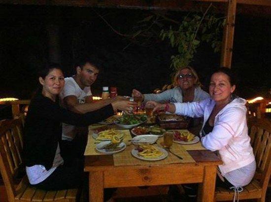 Kizilbuk Wooden Houses: yemek