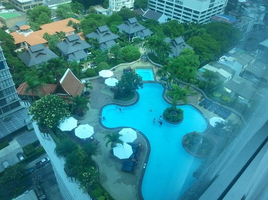 Executive Club at Windsor : The pool view