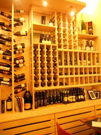 Ristorante Fondaco: Varietà di vini