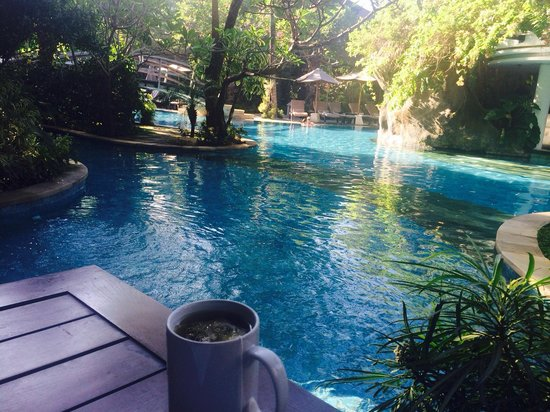 Padma Resort Legian : Lagoon room balcony