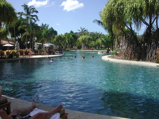 The Westin Golf Resort & Spa, Playa Conchal: The pool...it goes on forever