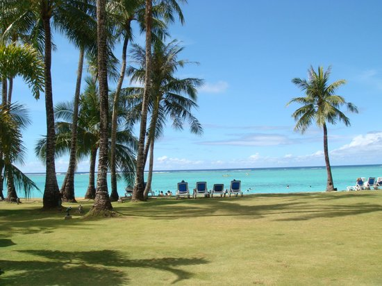Fiesta Resort Guam : ホテルからの眺め