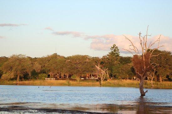 Nkorho Bush Lodge: vue pendant le safari