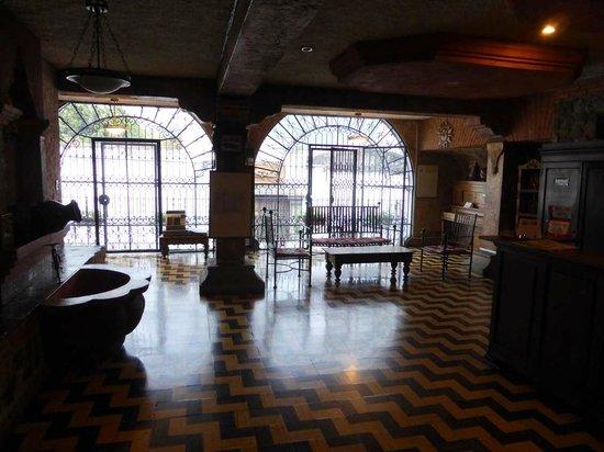 Hotel La Sin Ventura : Rezeptionshalle