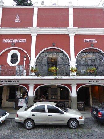 Hotel La Sin Ventura : Außenansicht