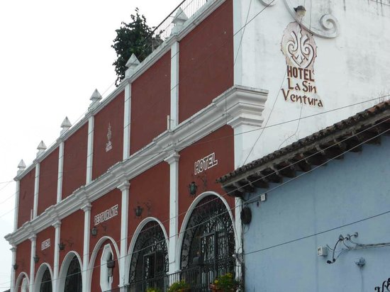 Hotel La Sin Ventura: Außenansicht