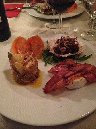 Sin Lounge Bar & Restaurant : Antipasto