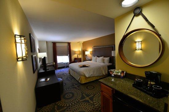 Hampton Inn & Suites Austin Downtown : Bedroom