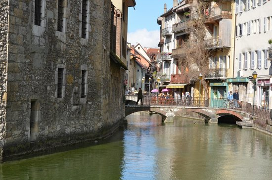 Les Tresoms Lake and Spa Resort: Annecy centre historique