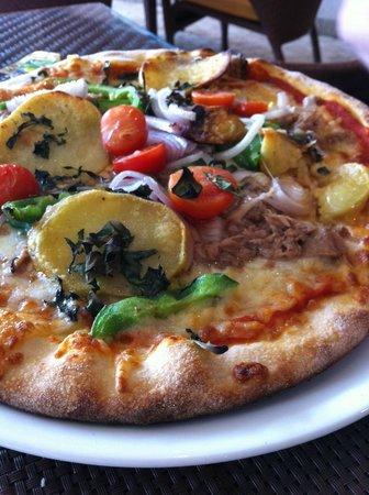Agliolio : Pizza Tonnata