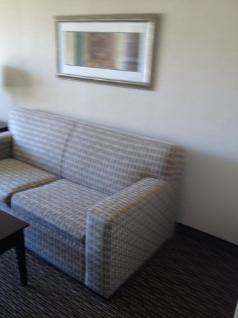 Holiday Inn Enfield-Springfield: Couch in sitting area