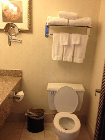 Holiday Inn Enfield-Springfield: Smaller bathroom