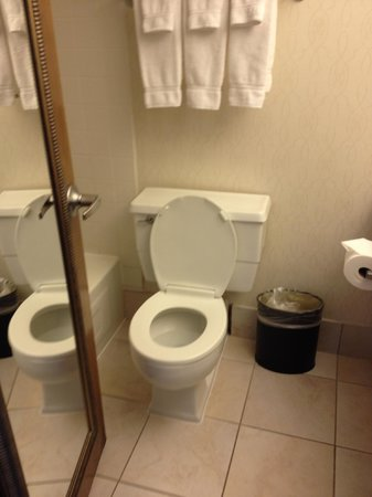 Holiday Inn Enfield-Springfield: Larger bathroom with tub