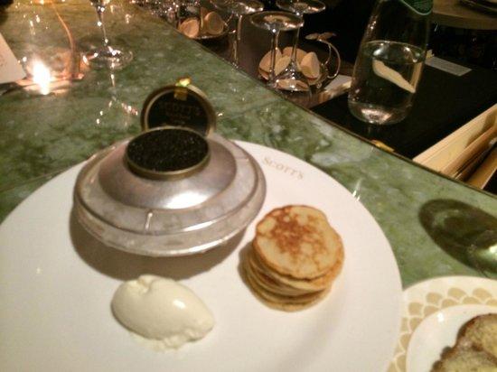 Scott's : Caviar