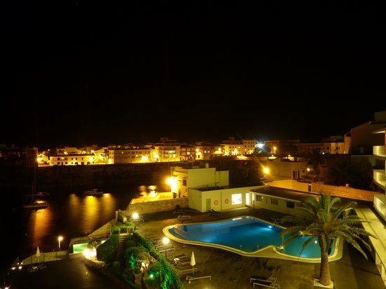 Artiem Carlos III Adults Only: Night view from room