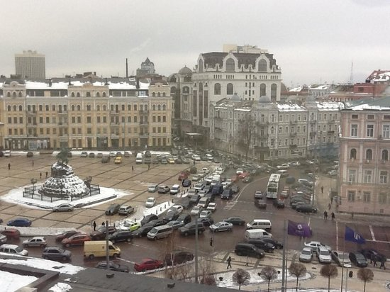 Hyatt Regency Kiev: Вид из номера
