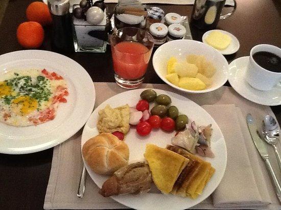 Hyatt Regency Kiev: завтрак