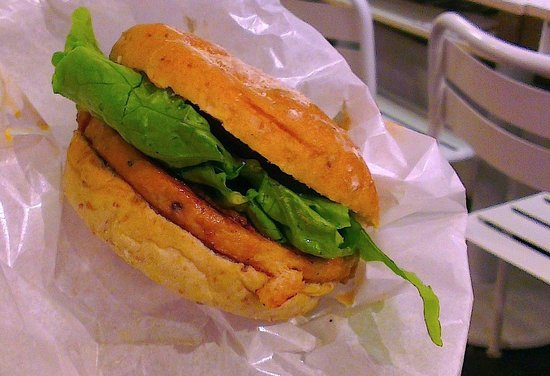 VeganBurg: Char-Grilled Satay Burger