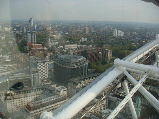 Park Plaza Westminster Bridge London : De la grande roue vue de l'hotel