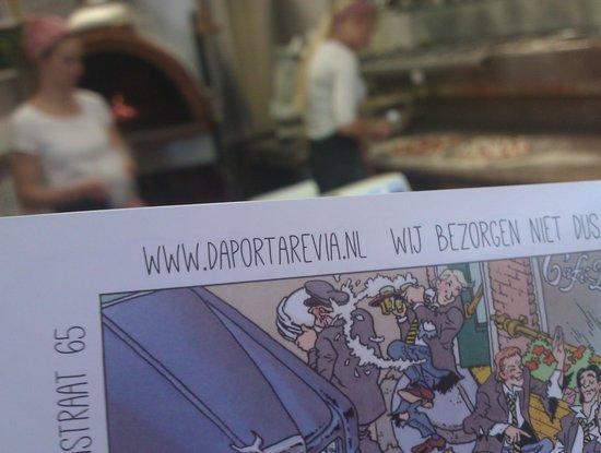 Da Portare Via: The menu