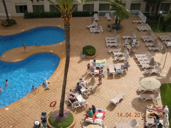 ClubHotel Riu Costa del Sol : Pool from room
