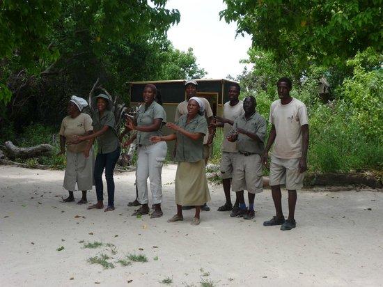 Sango Safari Camp : Welcome song