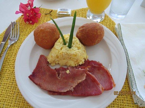 Vista de la Bahia: Delicious breakfast