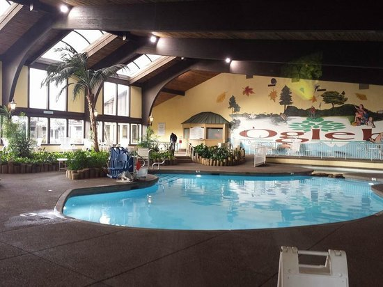 Wilson Lodge at Oglebay Resort & Conference Center: Indoor pool and Jacuzzi very well kept.