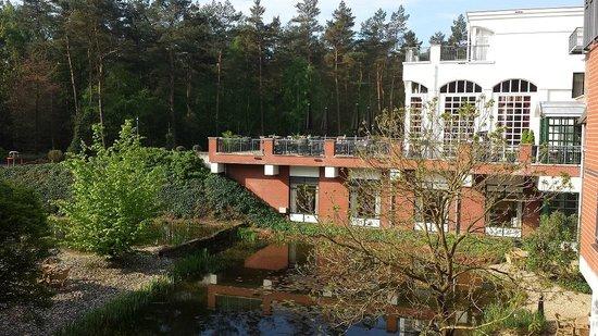 Bilderberg Residence Groot Heideborgh: View from the restaurant
