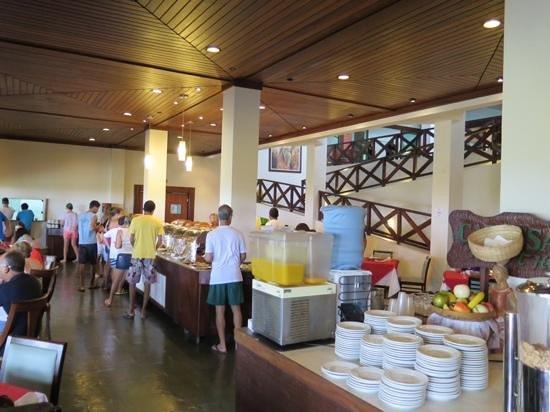 Catussaba Resort Hotel : breakfast buffet