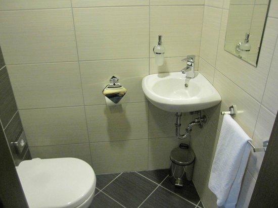 Hotel Regnum Residence: Abgetrenntes WC