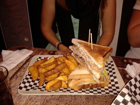 Uptown: sándwich kebap