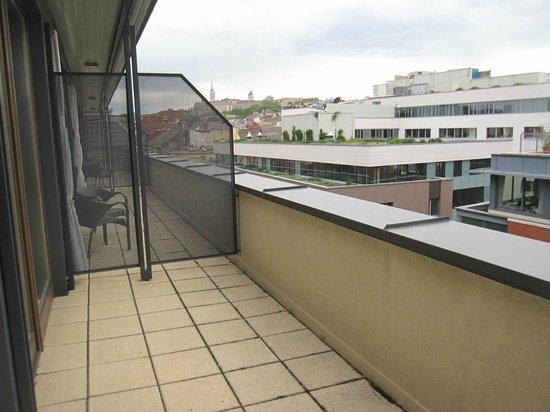 Hotel Regnum Residence: Blick von der Terrasse