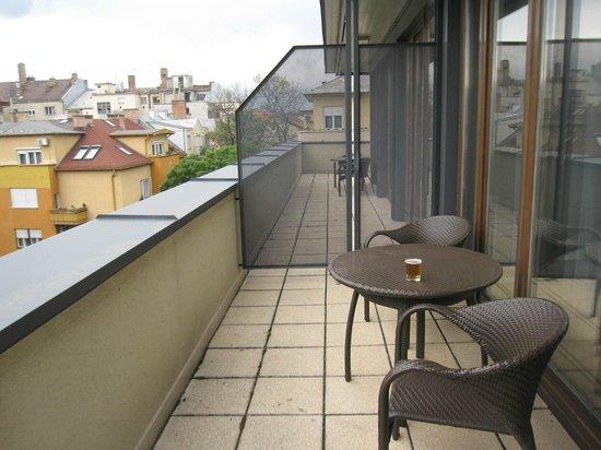 Hotel Regnum Residence: Balkon