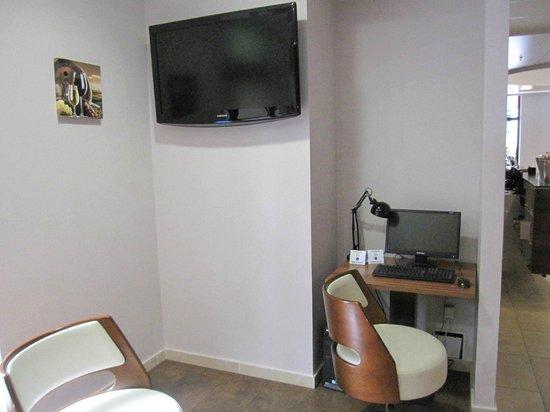Hotel Regnum Residence: Internetecke