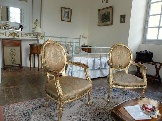 Chateau d'Avanton : Chambre Marie-Antoinette