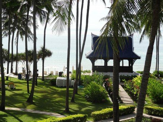 Centara Grand Beach Resort Samui: view from room 221