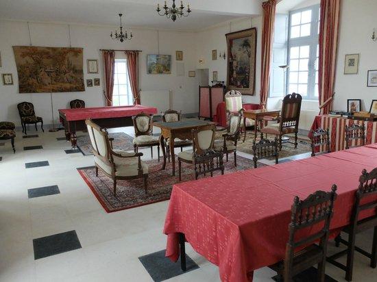 Chateau d'Avanton : Salle de jeu