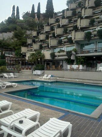 Monte Tauro Hotel : Hotel viewing