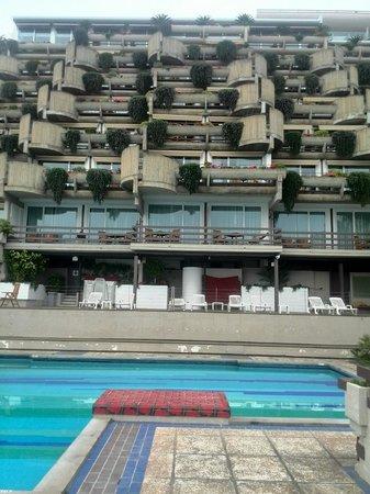 Eurostars Monte Tauro: Hotel viewing