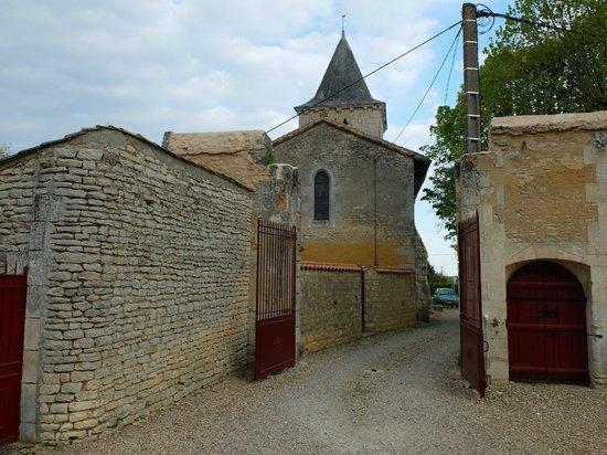 Chateau d'Avanton : L'entrée